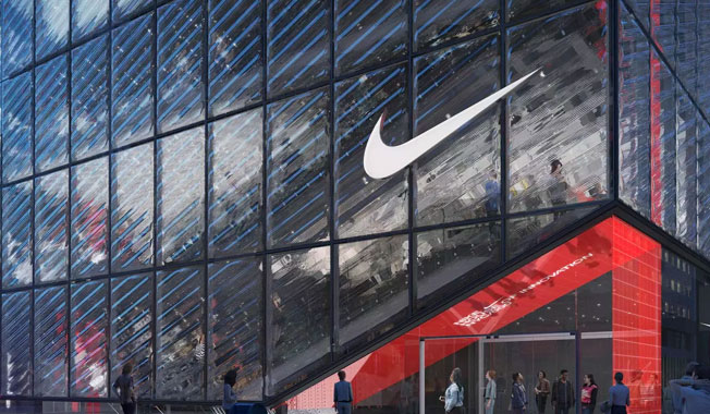 Nike building in New York city